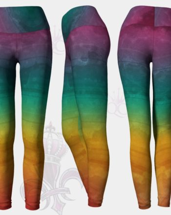 Rainbow Soul Yoga Leggings Pants