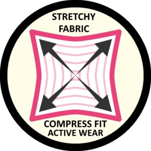 FABRIC YOGA PANTS CENTER
