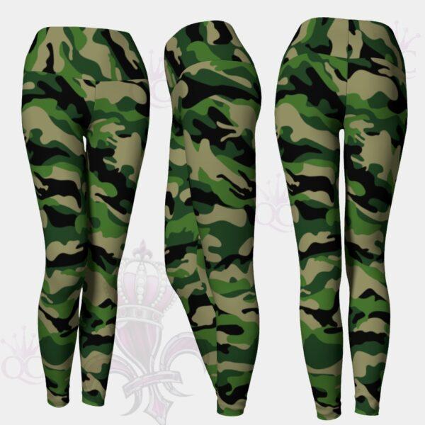 Camo Green Leggings
