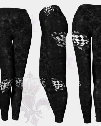Ripe Dark Checkered Flag Leggings