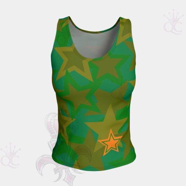 Camo Stars Tank Top Front