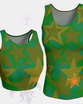 Camo Stars Tank Top Groupe Yoga Pants Center