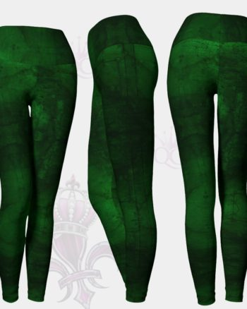 Money Green Leggings