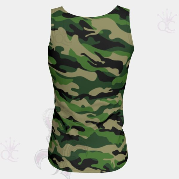 Camo Green Top Back View
