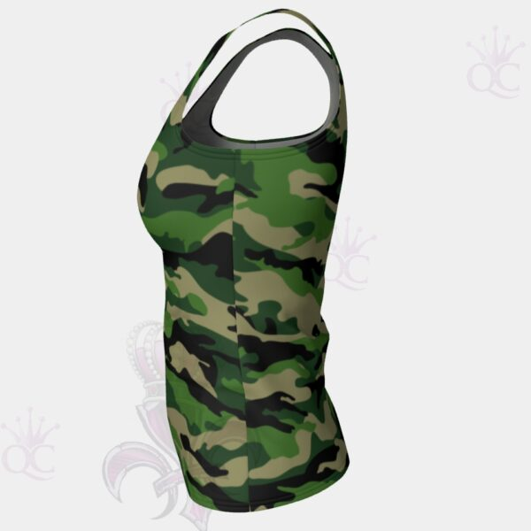 Camo Green Top Side View