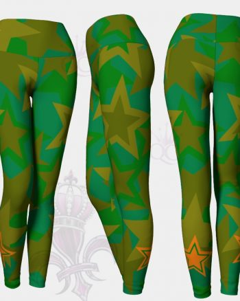 Camo Stars Leggings