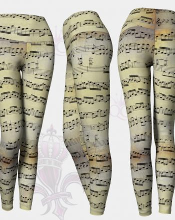 Music Partition Leggings