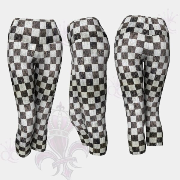 Checkered Flag Capris
