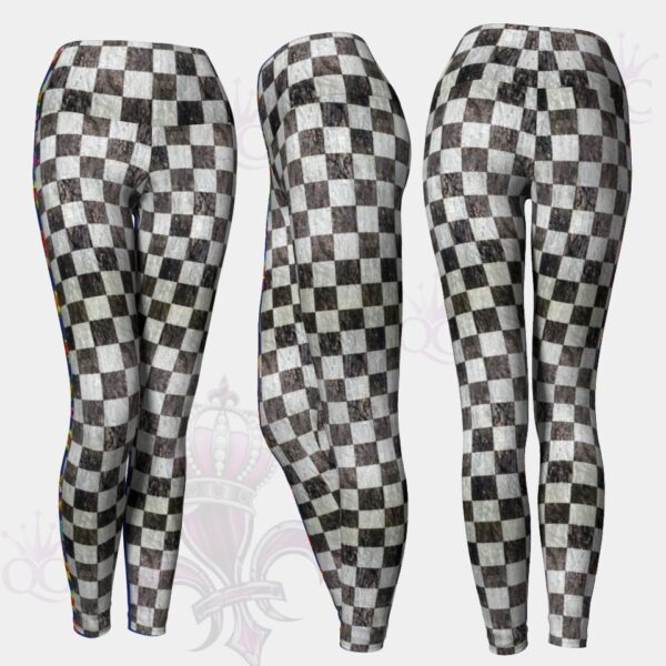 Checkered Flag Leggings