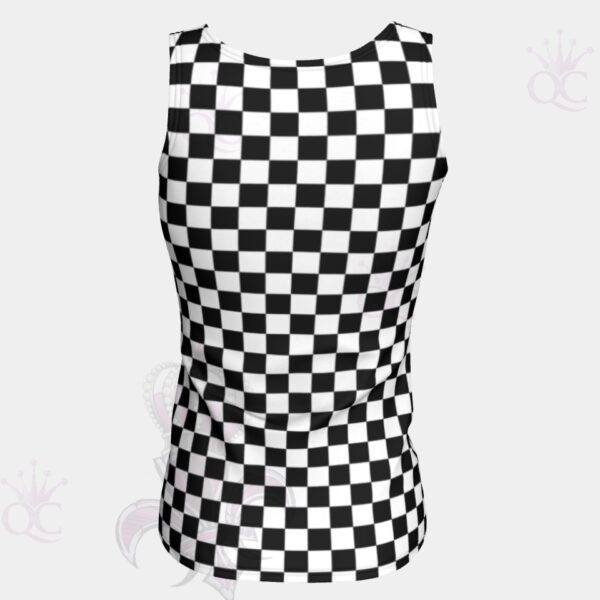 Checkered Flag Original Top Back