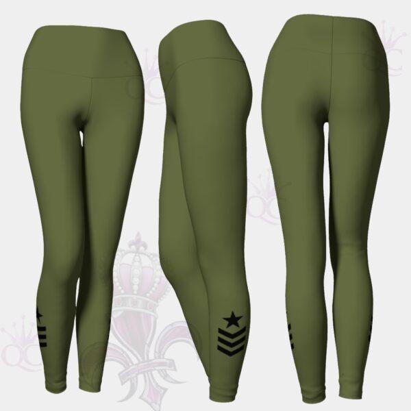 Army Star Leggings