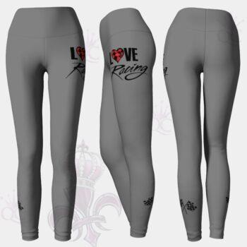 Love Racing Gray Leggings