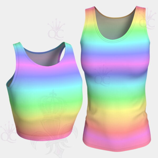 Unicorn Rainbow Group Top