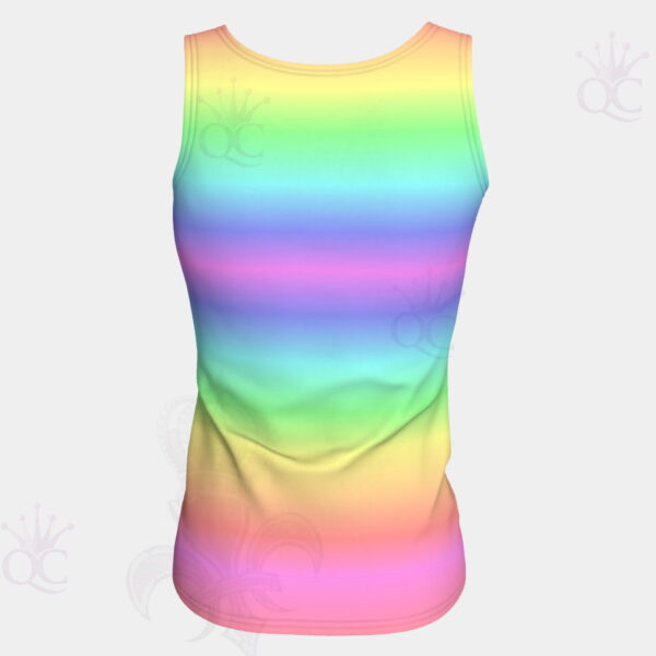 Unicorn Rainbow Top Back