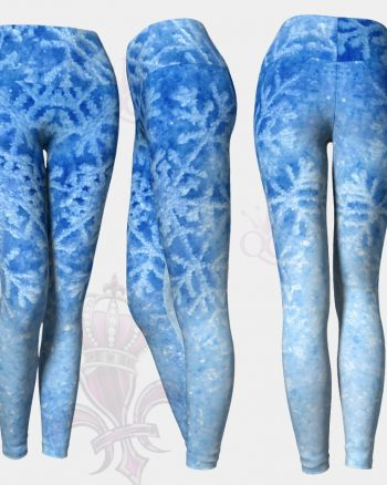 Winter Snow Flake Leggings