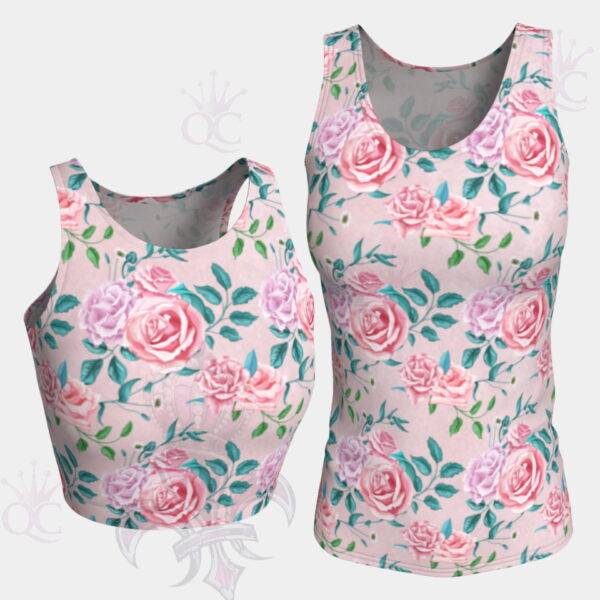 Garden Party Rose Pink Tops