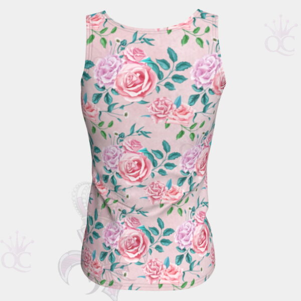 Garden Party Rose Tank Tops Back View