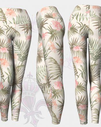 Tropical Flower Leggings