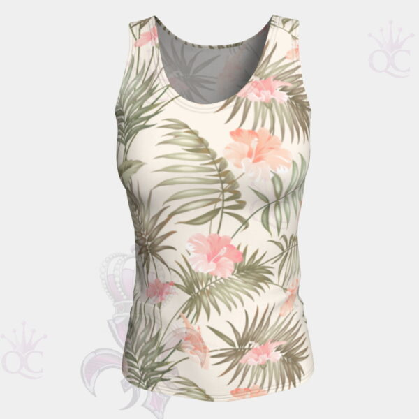 Tropical Flower Tank Top