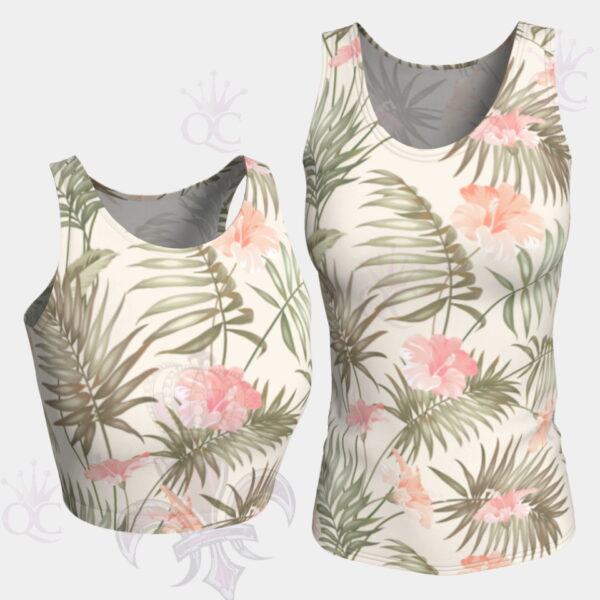 Tropical Flower Tops