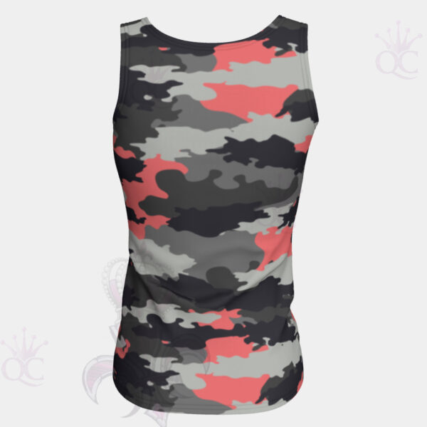 Camo Pink Back View Top