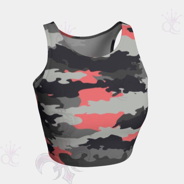 Camo Pink Crop Top