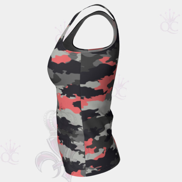 Camo Pink Side View Top