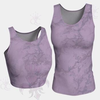 Purple Marble Tops